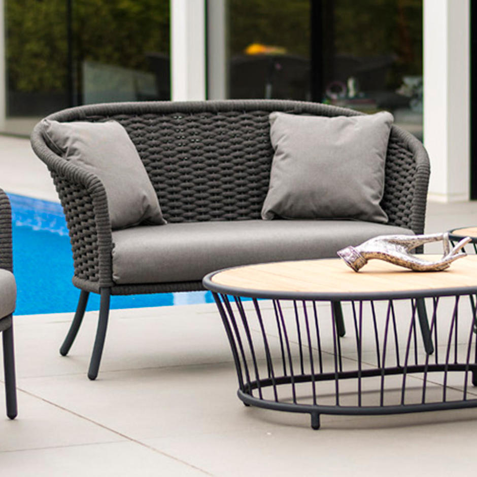Cordial Outdoor 2 Seat Lounge Sofa