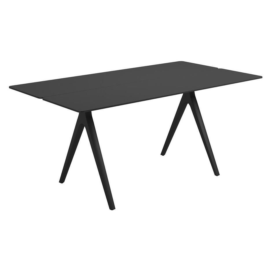 Split 170cm Dining Tables with Aluminium Tops