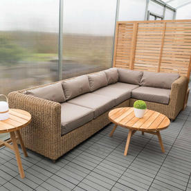 Malibu Modular Outdoor Lounge Left Unit