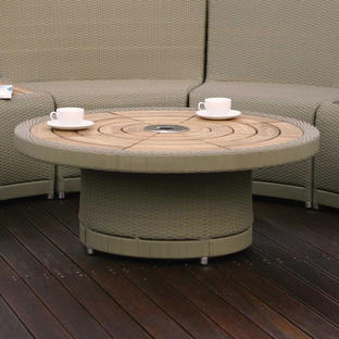 Oasis Outdoor Curved Modular Centre Table