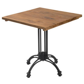 Pigalle Pedestal Table 4 Leg Bases