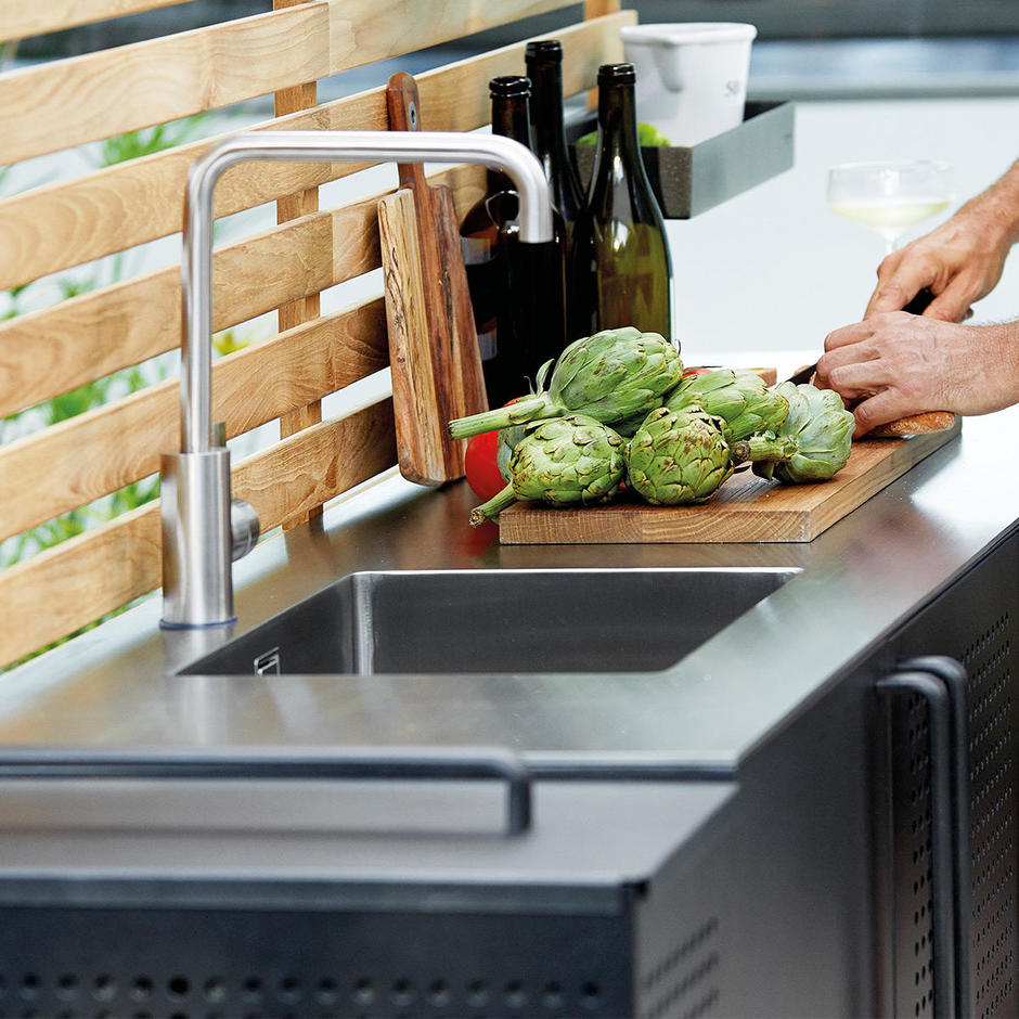 Drop Kitchen Stainless Steel Top with Sink
