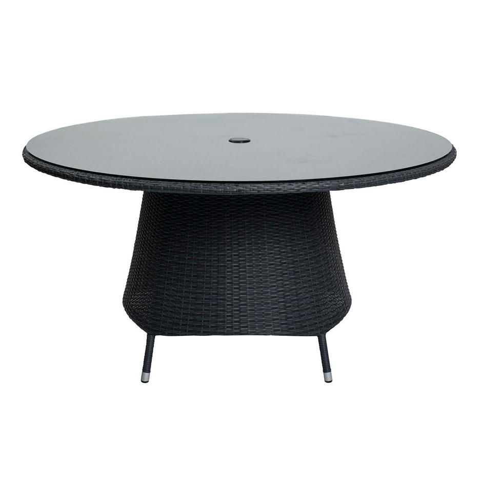 Tarn Round Outdoor Patio Table Glass Tops