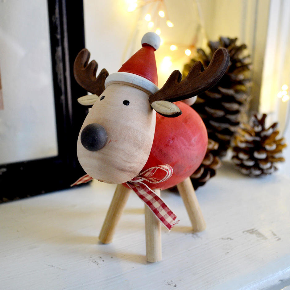 Douglas the Red Reindeer Decoration