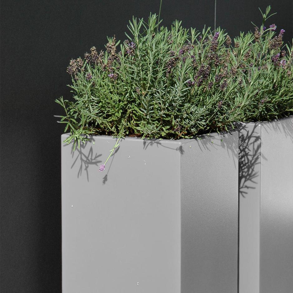 Aluminum Garden Column Planter