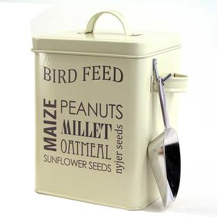 Bird Feed Seed Tin