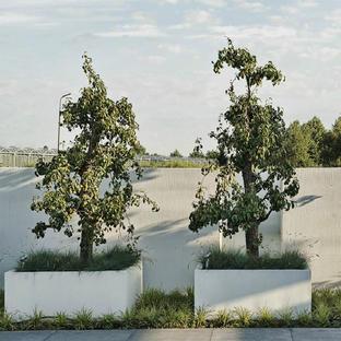Aluminum Box Square Garden Planters