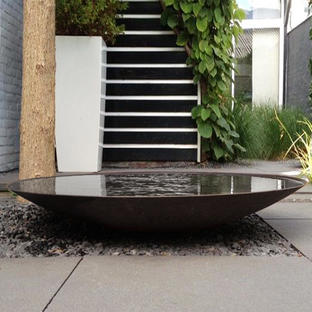 Reflective Water Pools - Aluminium