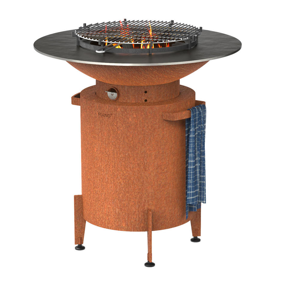 Forno Plancha Cylinder Barbecue