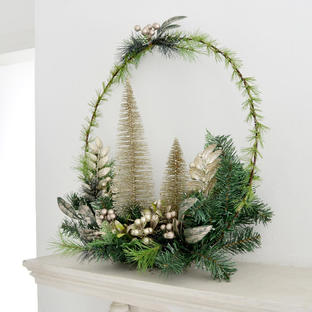 Nordic Forest Decoration Hoop