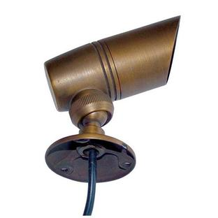 Garden Zone Bronze Plug & Go Small Spotlight