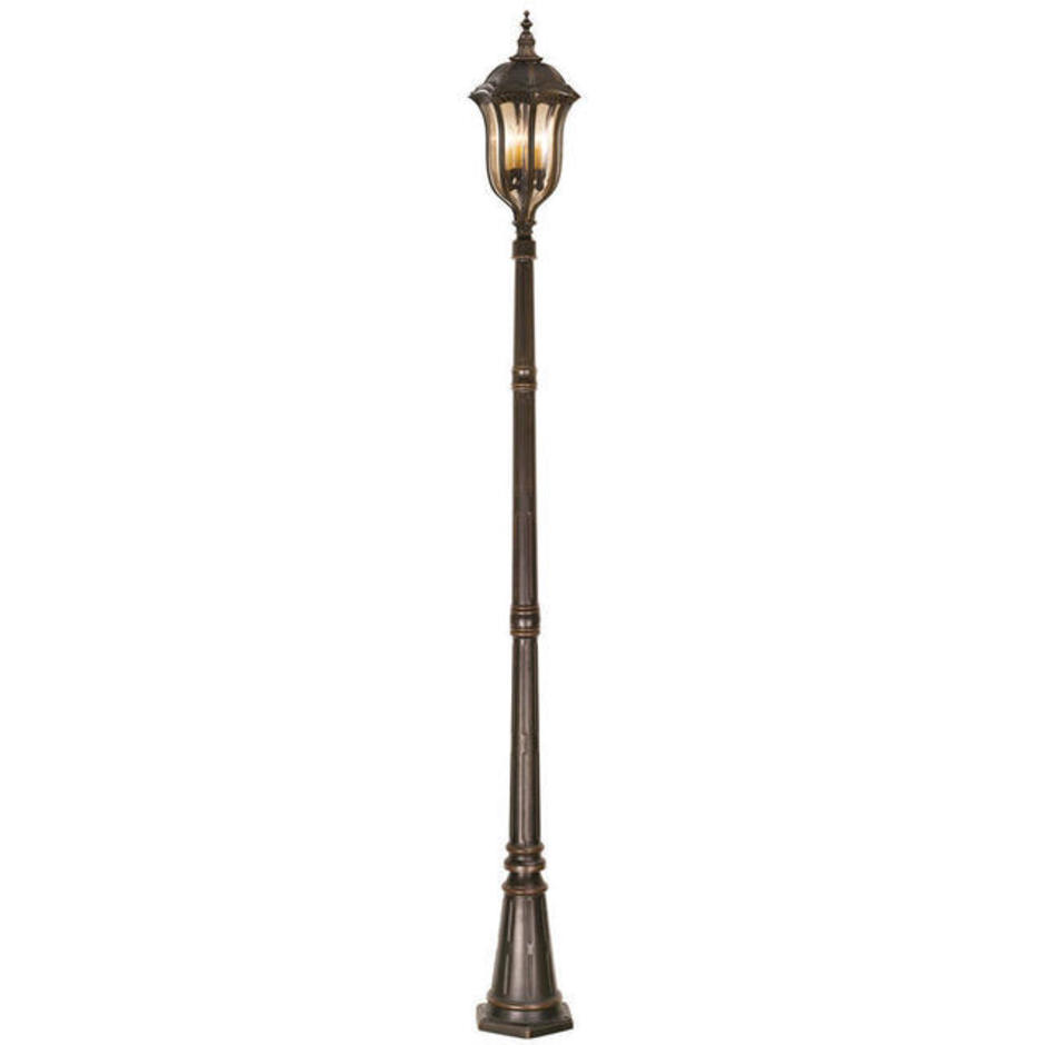 English Bridle Outdoor Post Lantern