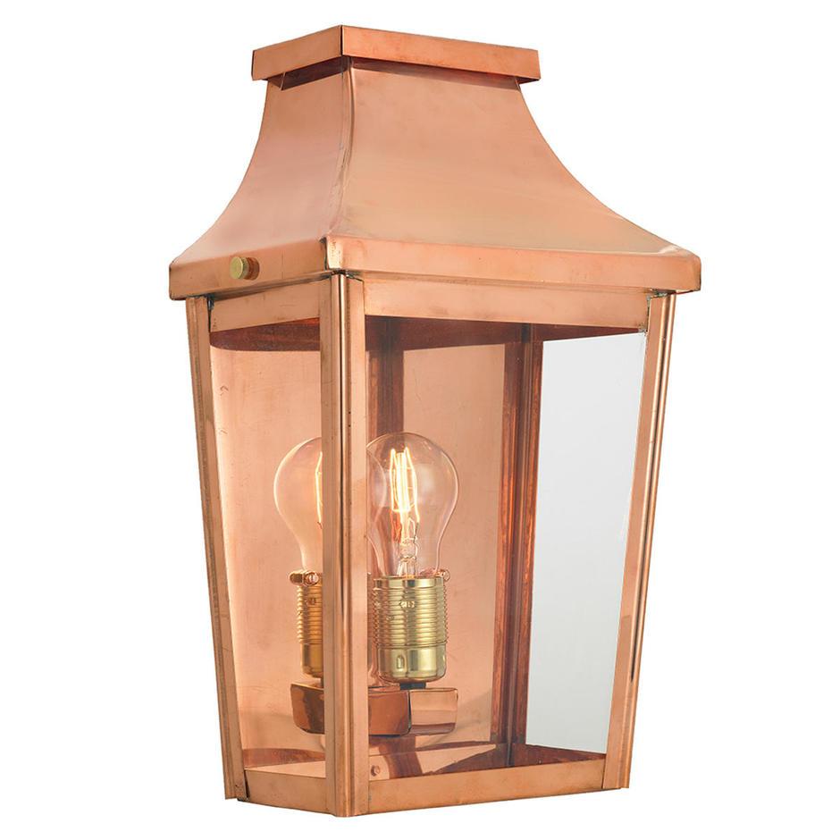 Chelsea Grande Outdoor Half Wall Lantern