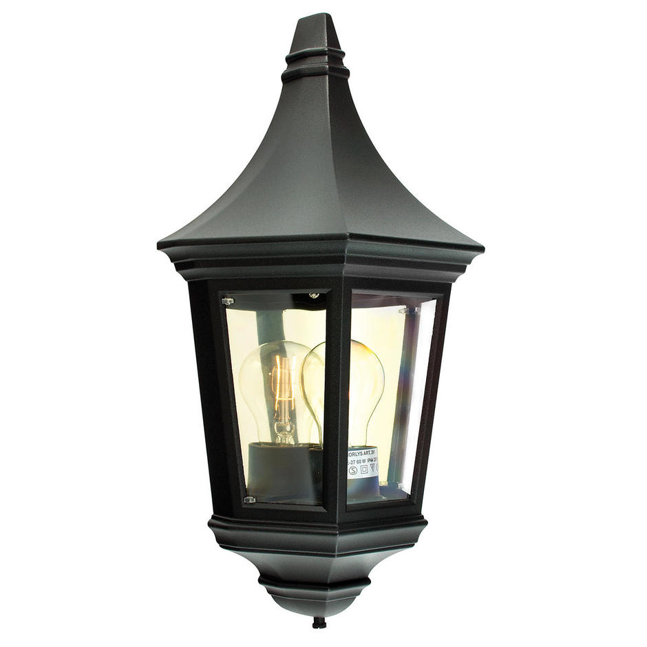Valencia Outdoor Flush Wall Lantern