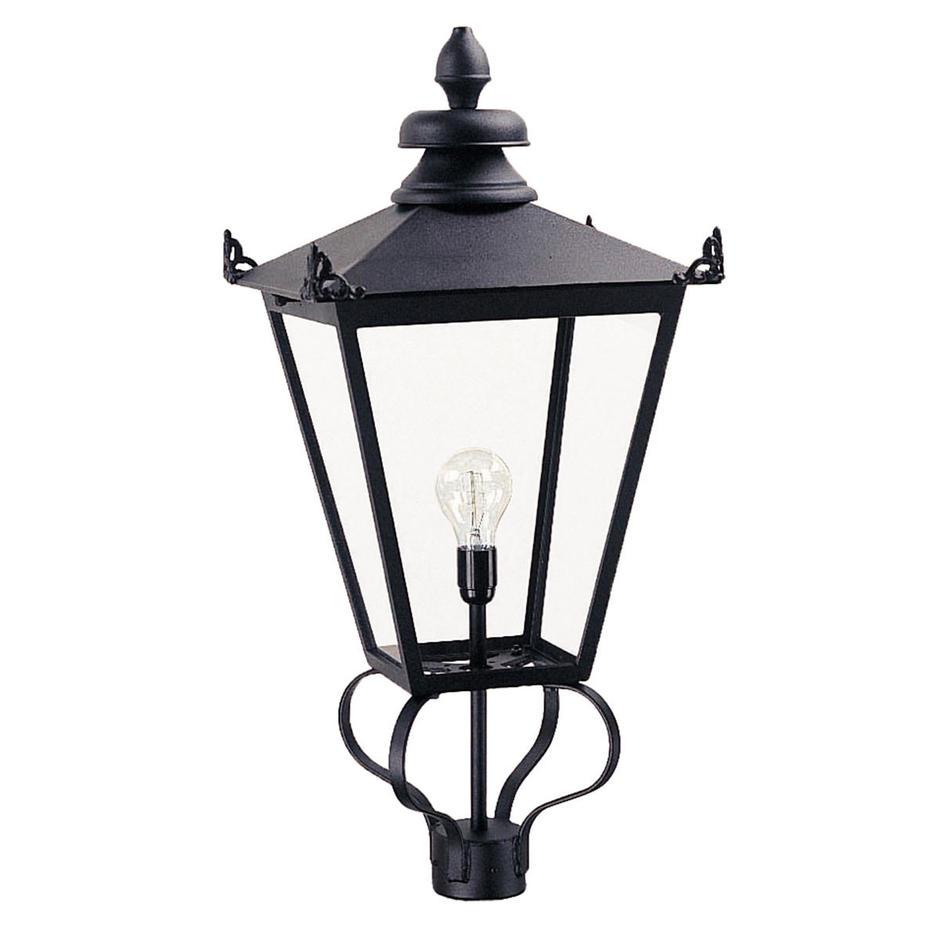 Wilmslow Outdoor Pedestal Head Lantern