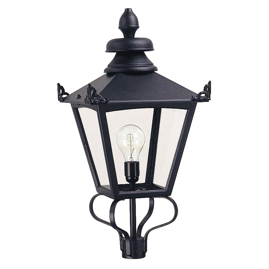 Grampian Outdoor Pedestal Head Lantern