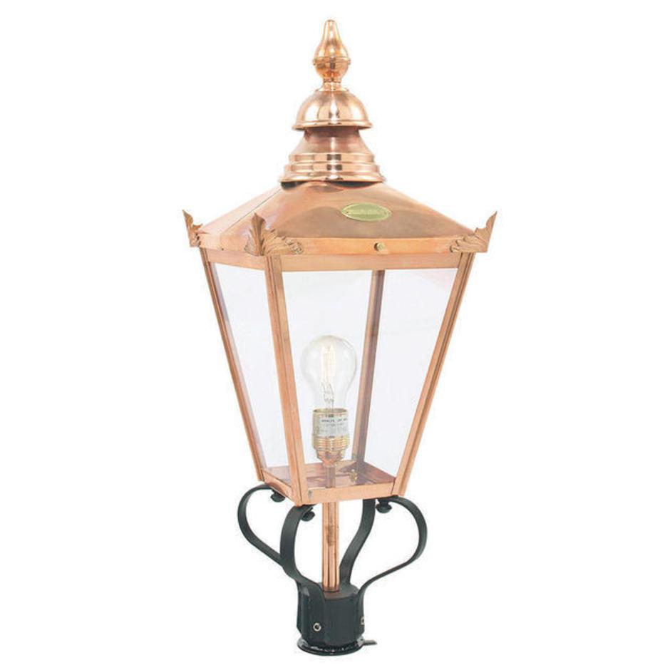 Chelsea Outdoor Pedestal Head Lantern