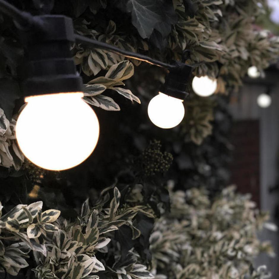 Outdoor Single Length LED Warm White Festoon Lights