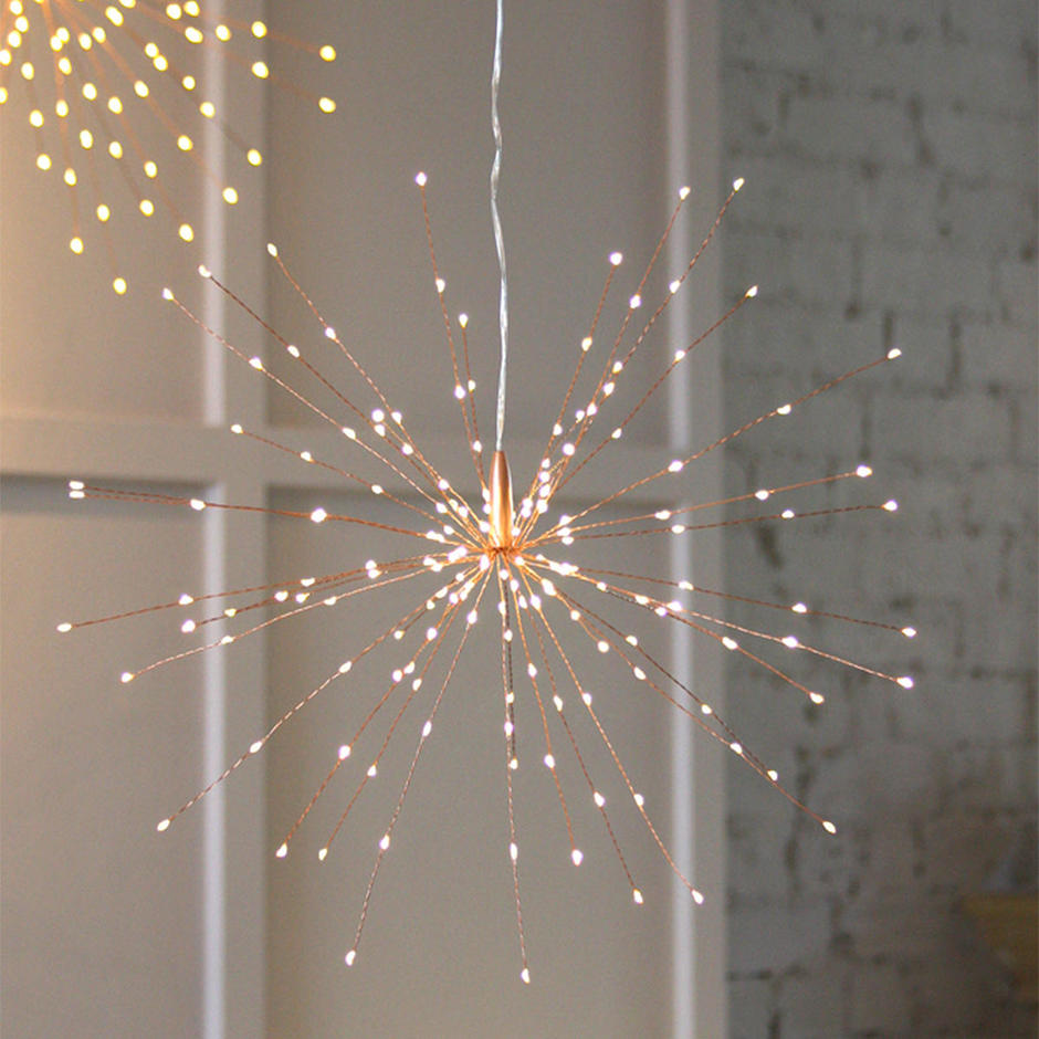 Starburst LED Allium Outdoor Mains Lights