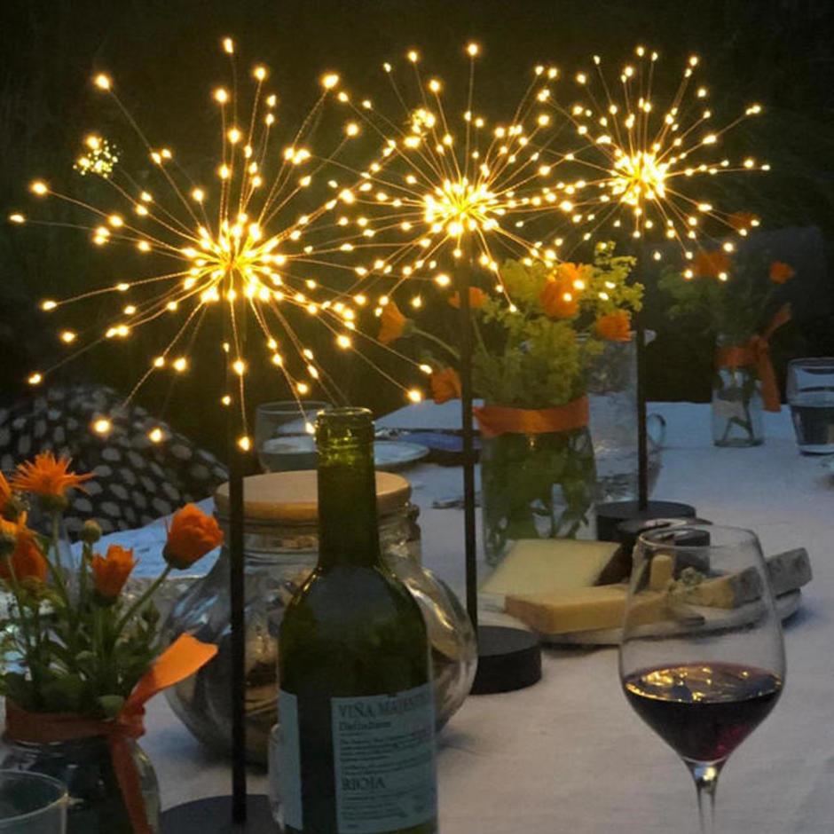 Allium Starburst Table Light - Set of 3