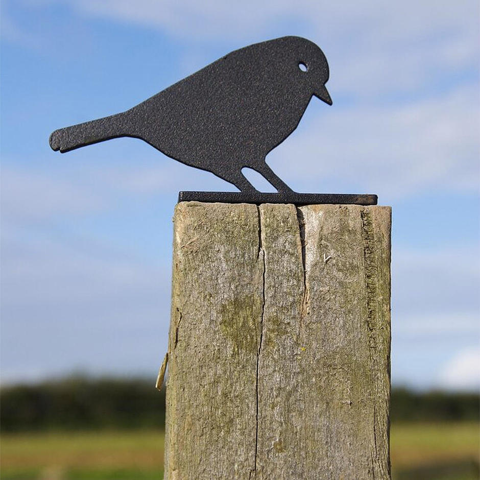 Fence Post Protector - Blue Tit