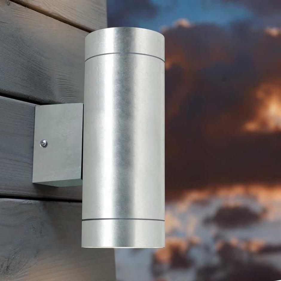Castor Maxi LED Up / Down Outdoor Wall Lighting