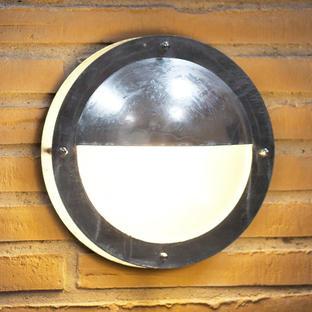 Malte Outdoor Half Shade Ceiling / Wall Lighting