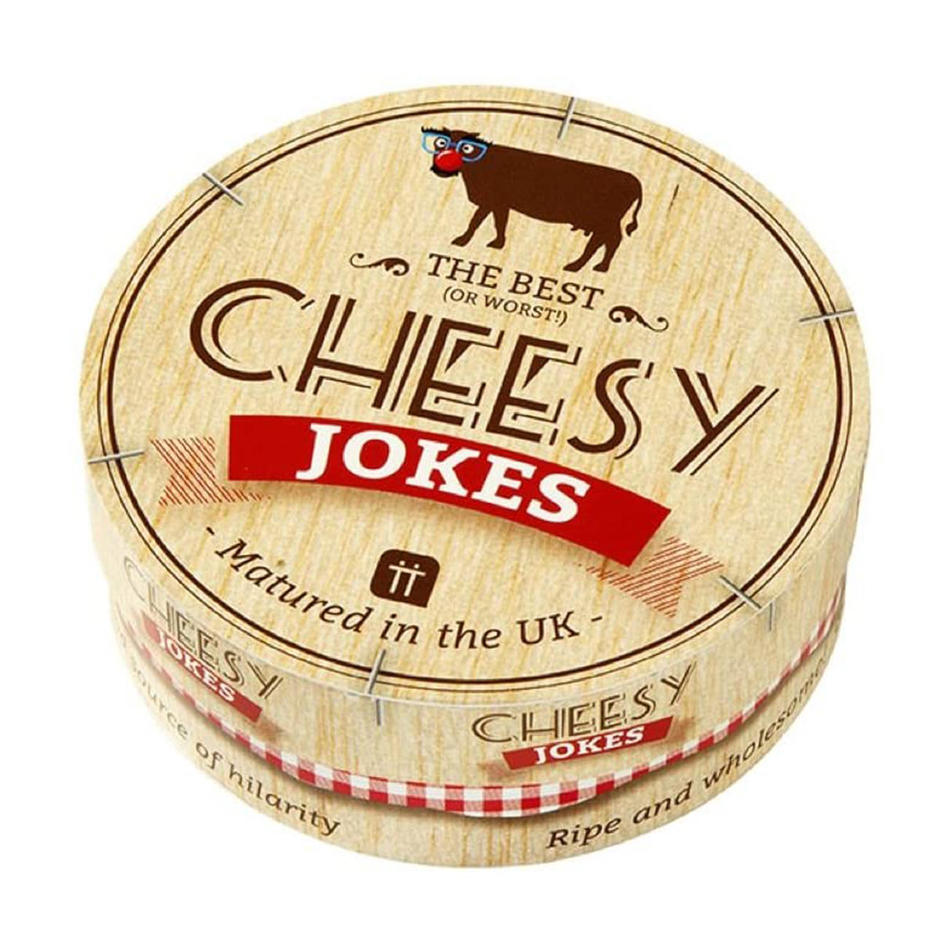 Cheesy Jokes in Festive Cow Box