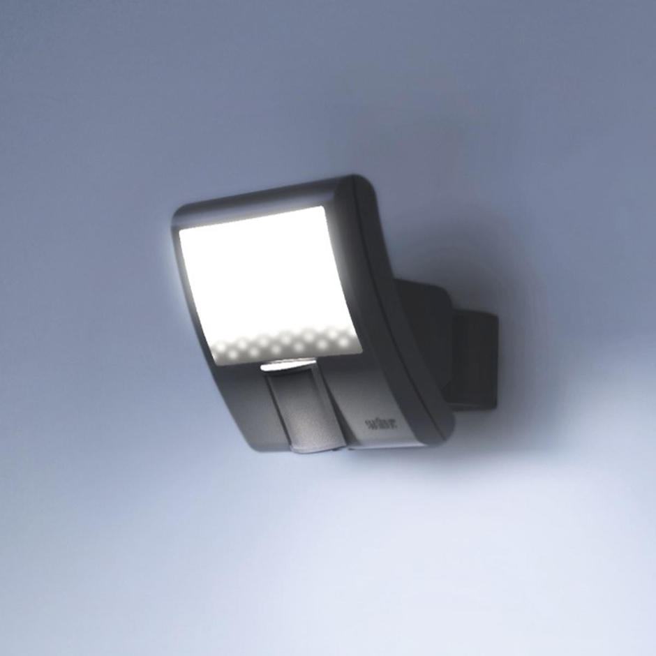Outdoor Motion Sensor LED Curved Floodlights