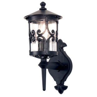 Hereford Scroll Up Wall Lantern