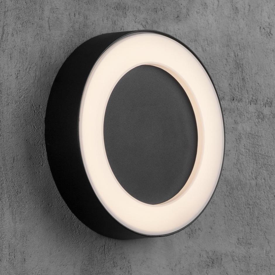 Teton Outdoor Round Wall/Ceiling Light
