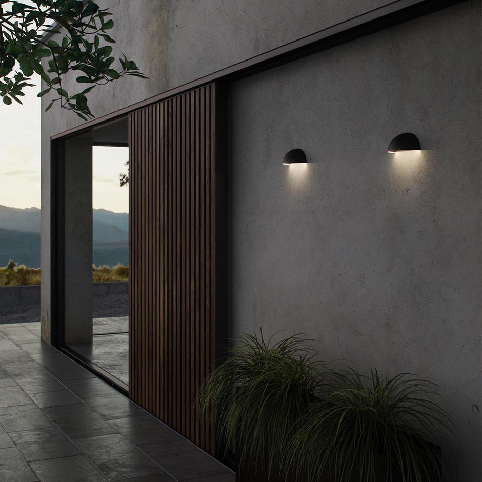 Arcus Bluetooth Outdoor Wall Lights
