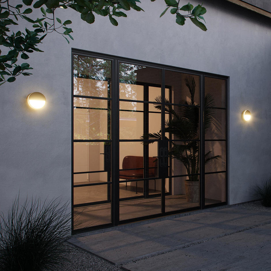 Ava Bluetooth LED Outdoor Wall lights
