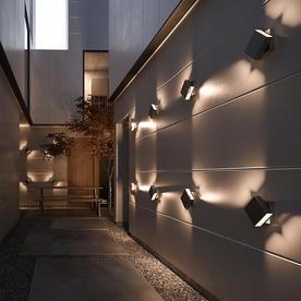 Turn Outdoor Wall Lights