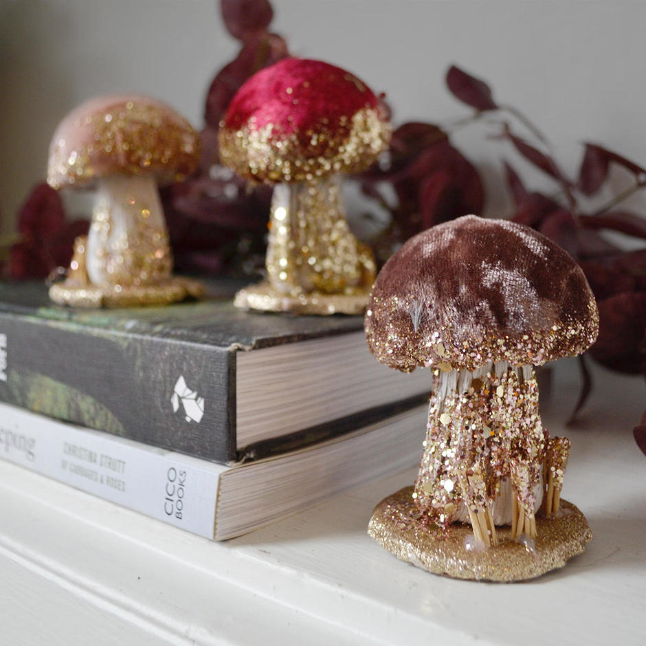 Velvet Mushrooms