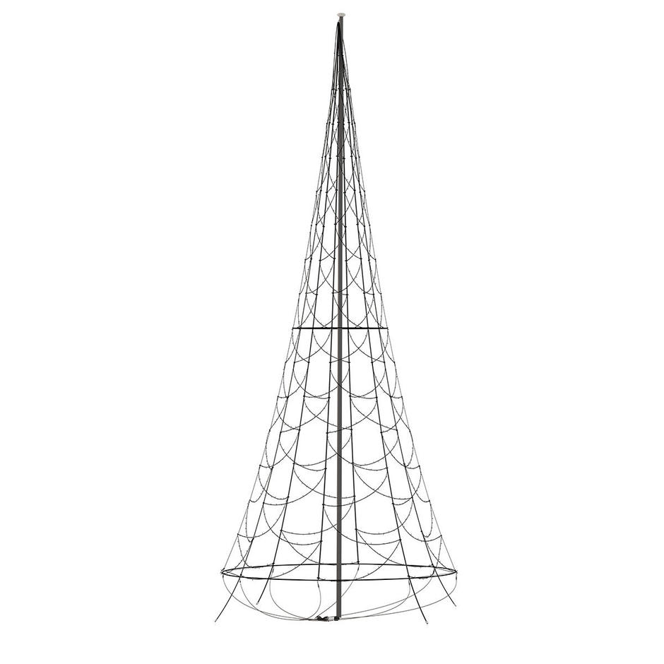 6m Flagpole for 3D Christmas Tree