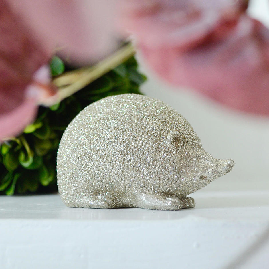 Mini Sparkle Hedgehog Decoration