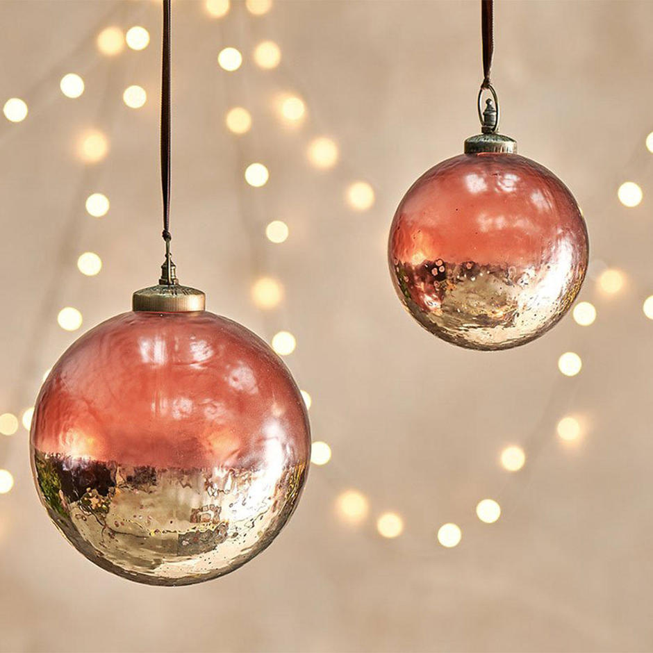 Handblown Giant Glass Baubles