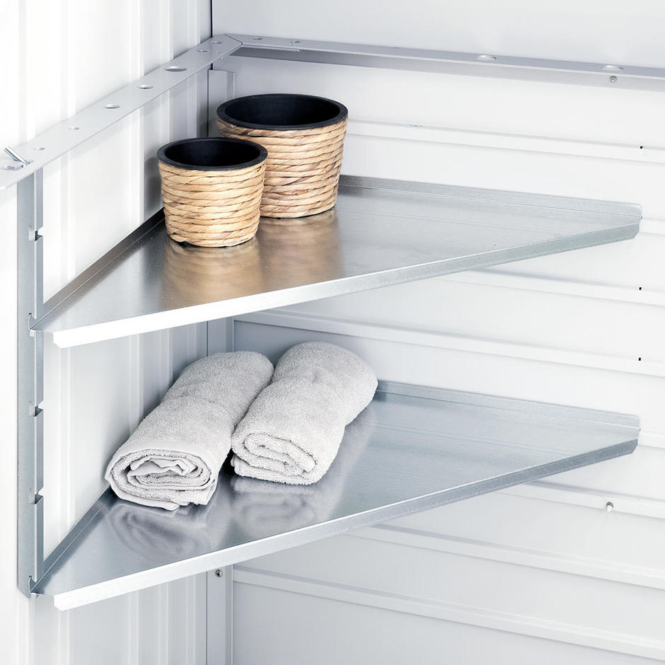 BioHort Corner Shelf Set for StoreMax