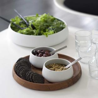 Nordic Porcelain Salad Bowl