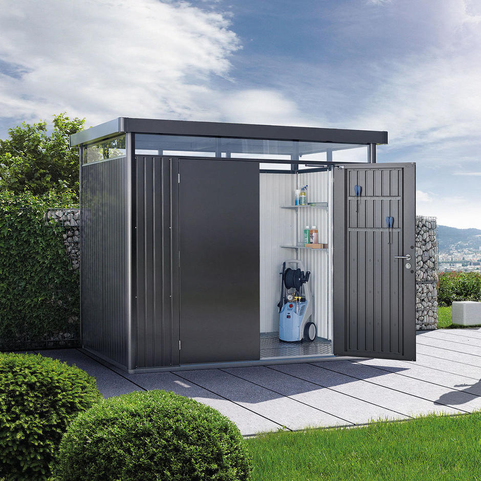 HighLine Garden Shed with double door