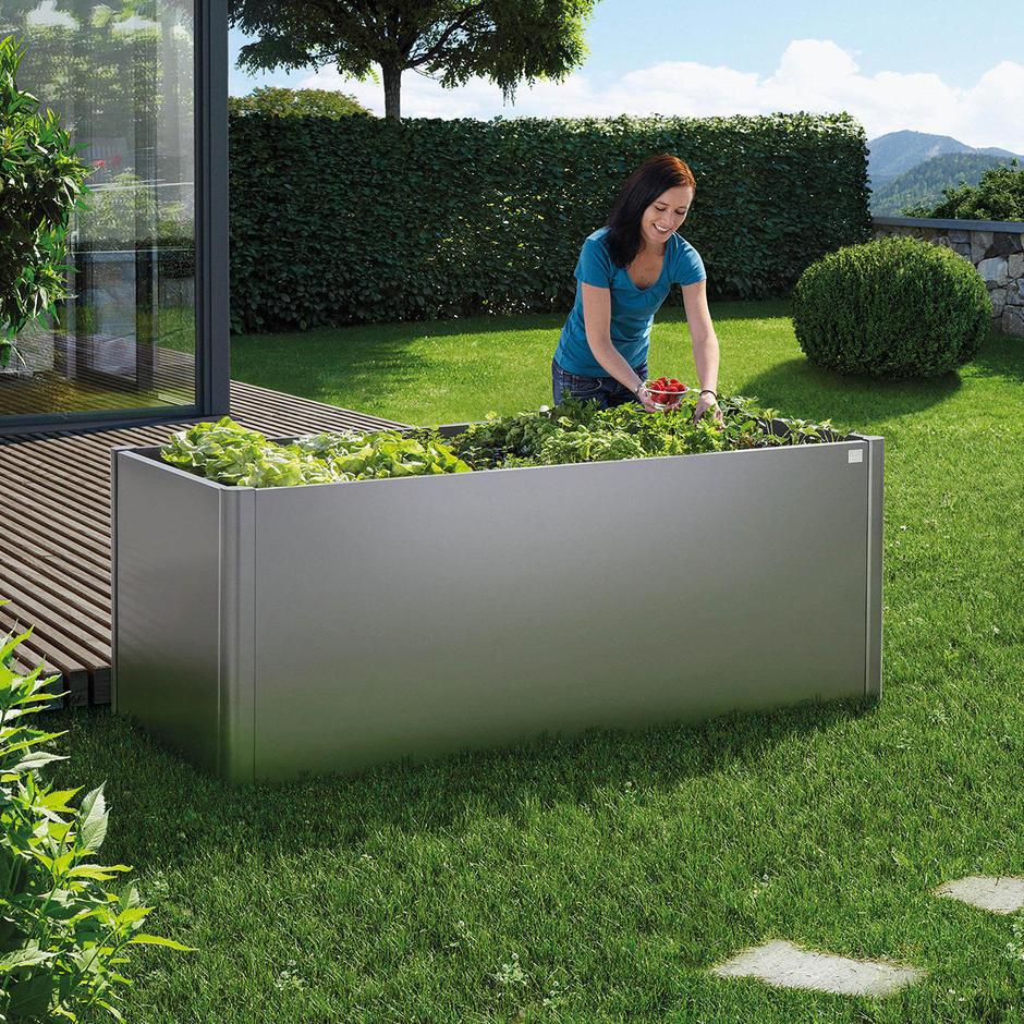 Rectangular Raised Vegetable Bed by BioHort