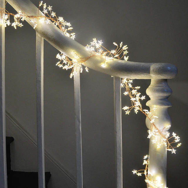 Buy Star Cluster Bare Wire Micro Led Light Garland The Worm That Turned Revitalising Your Outdoor Space