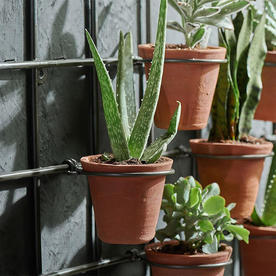 Wire Wall Frame with Pots