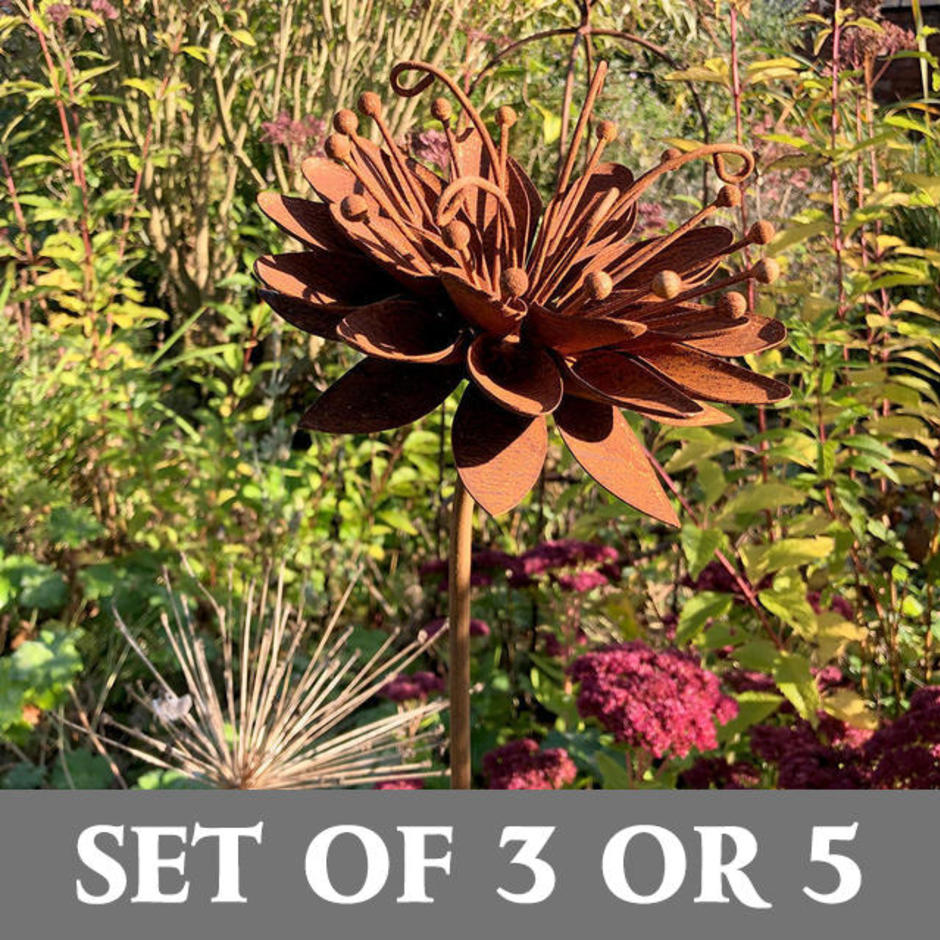 Rusted Passion Flower Sets