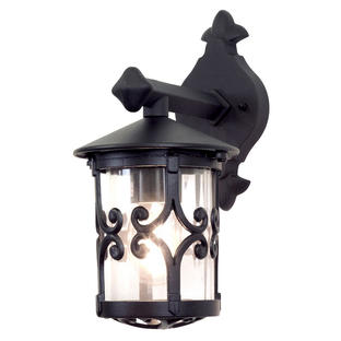 Hereford Outdoor Scroll Down Wall Lantern