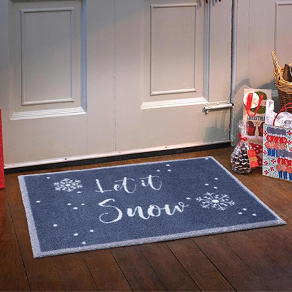 Turtle Mat - Let it Snow