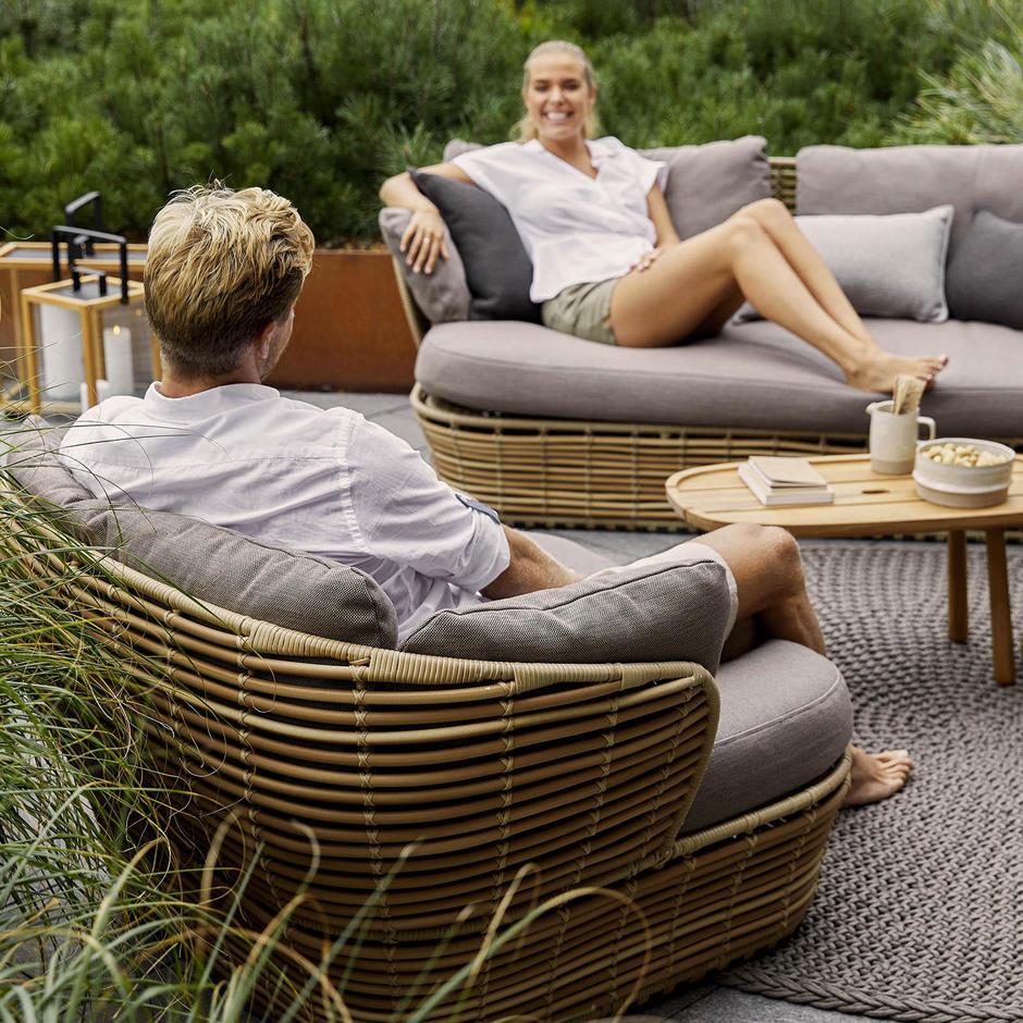 Basket Lounge Garden Chair
