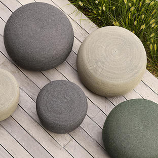 Circle Outdoor Footstool