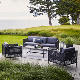 Connect 3-Seater Sofa Open Weave